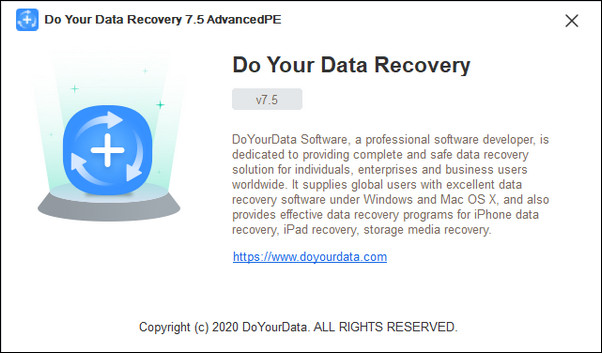 Do Your Data Recovery 7.5