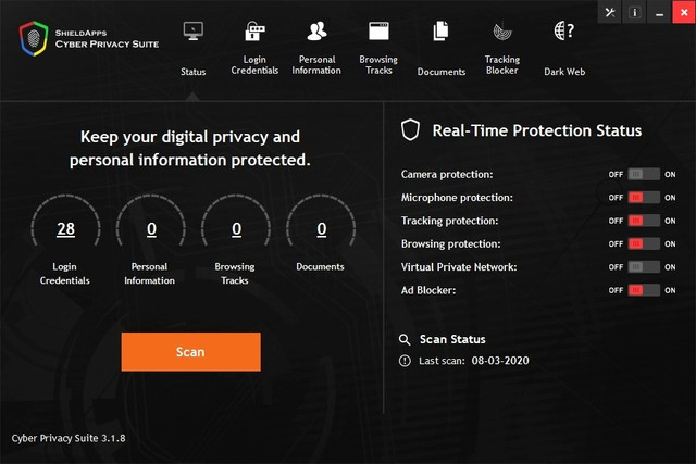ShieldApps Cyber Privacy Suite 3.1.8