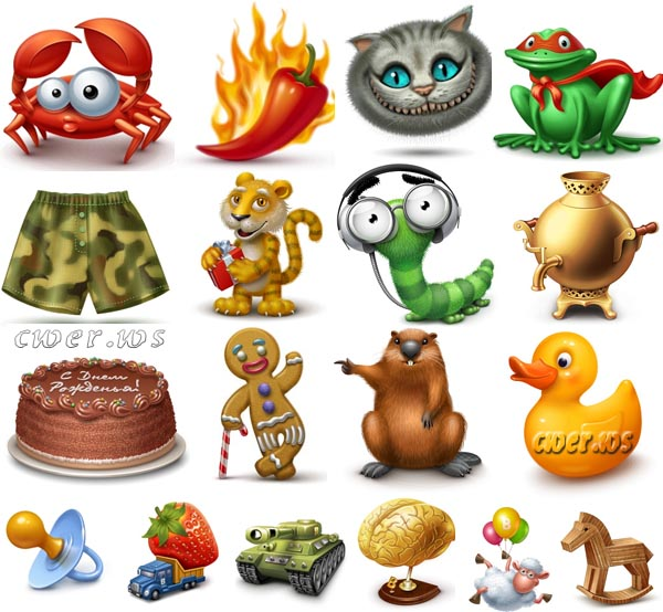 Kids Icons Pack